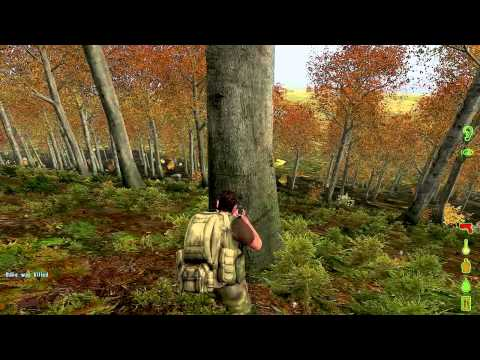Dayz: The Asylum- Player (Bane) makes a wrong turn into my woods