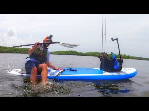 Easiest Way To Fish Goose Hill Inflatable Paddle Board Fishing And REVIEW