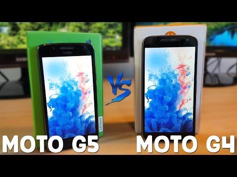 Moto G5 vs Moto G4 - Comparativa