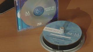 Langzeit Archivierung von Videodaten mit M-Disk