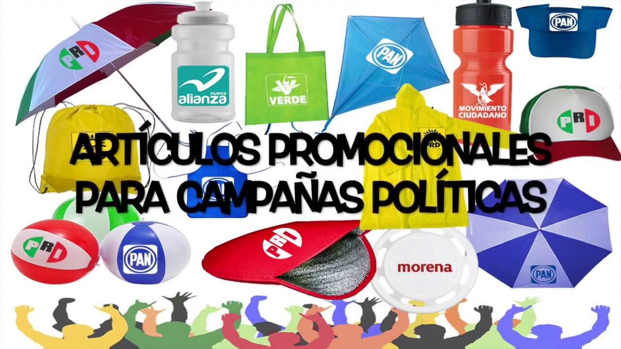 19d381d4003c ARTÍCULOS PROMOCIONALES PARA CAMPAÑAS POLÍTICAS - YouTube