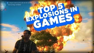 Top 5 Video Game Explosions!