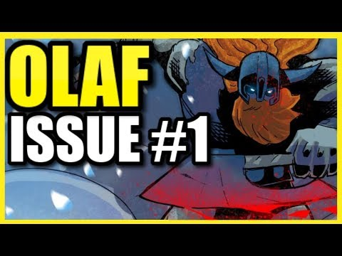 """""""OLAF"""" COMIC   Issue 1 Stoyrtime (with Voice-Acting!)   League Of Legends Comicbooks"""
