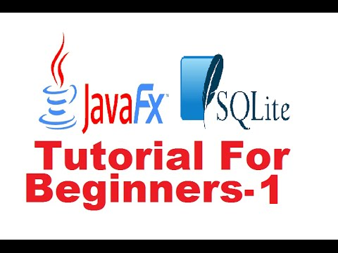 javafx-sqlite-database-tutorial-1---introduction-and-setting-up-sqlite-database