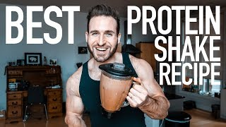 How To Make A Protein Shake Best Chocolate Protein Shake Recipe Youtube