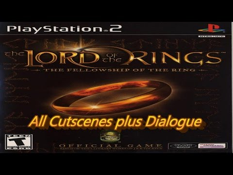 LOTR: The Fellowship of the Ring All Cutscenes PS2 Plus Dialogue