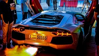 Dubai Motor Festival 2014 - Grand Parade/Red Bull Car Park Drift (Official Video)