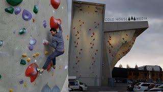 Training At The Kletterzentrum Innsbruck || Cold House Media Vlog 89
