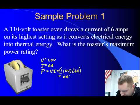 High School Physics - Electrical Energy and Power