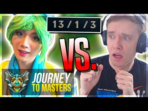 VERSUS BOXBOX?! NO F&*CKING MERCY!! - Journey To Masters | League of Legends