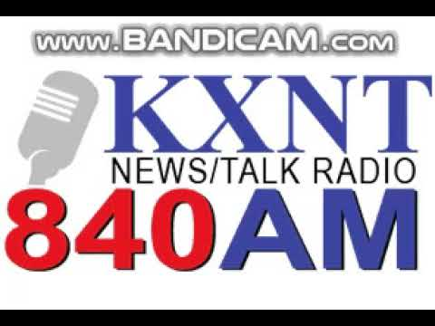 News-Talk 840 KXNT Station ID February 7, 2018 9:59pm