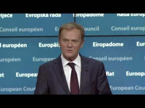 President Tusk on European Council
