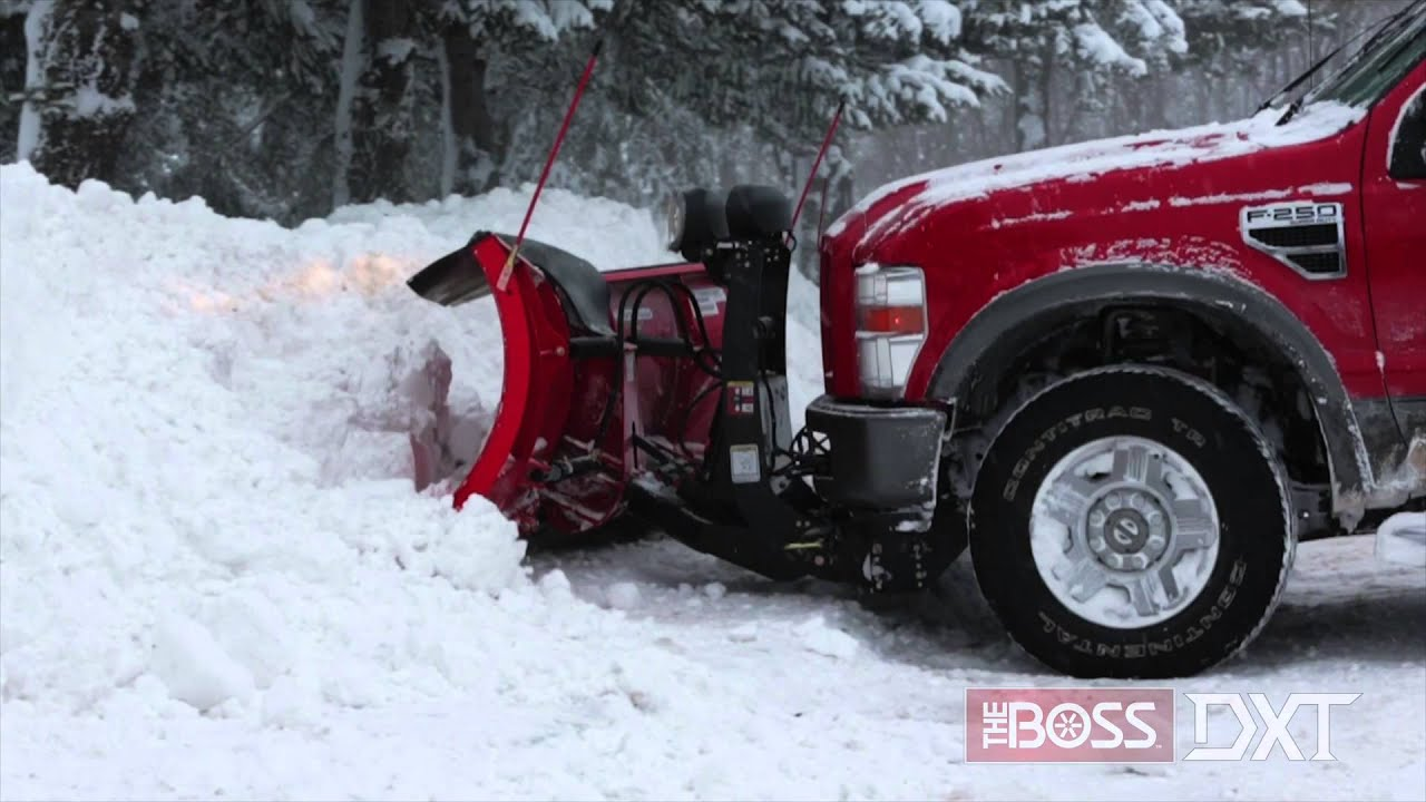 Snow Plow Prices >> The BOSS DXT Plow Extended Product Line - YouTube