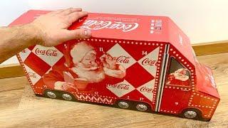 Coca Cola Advent Calendar with SURPRISE ❤️ कोक, आगमन कैलेंडर आश्चर्य के साथ