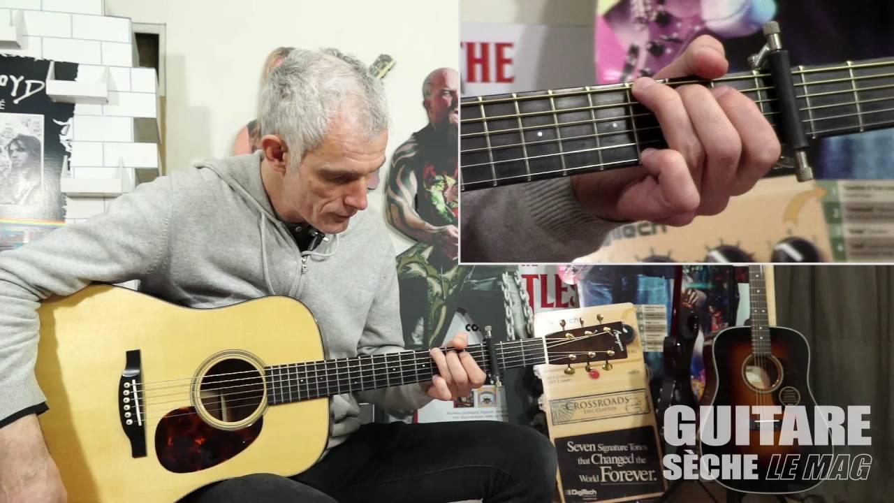 Guitare Sèche Le Mag - Thomas Hammje (Blues guitar lesson ...