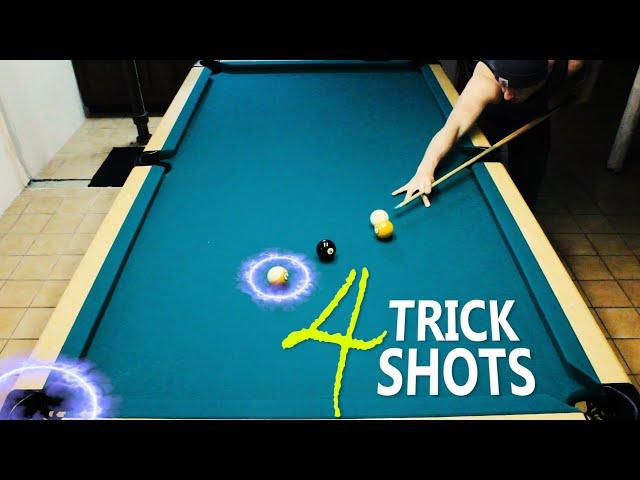 4 Pool Trick Shots: Volume 8