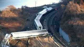 Witnesses Describe New York Commuter Train Derailment