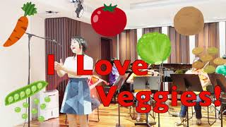 Veggies,  Veggies, Vegetables!  作詞・作曲 箱田賢亮、プロデュース 箱田賢亮