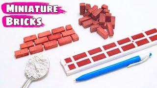How to make Mini Bricks for Mini House Model || Part 3