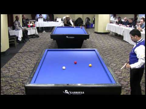 3-Cushion Billiards Miguel Torres vs Piedro Piedrabuena