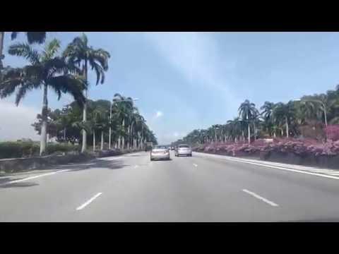 Singapore Highway in the Sun!