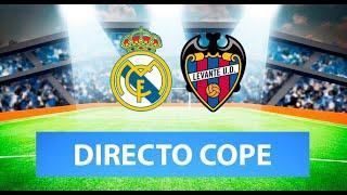 (SOLO AUDIO) Directo del Real Madrid 1-2 Levante en Tiempo de Juego COPE