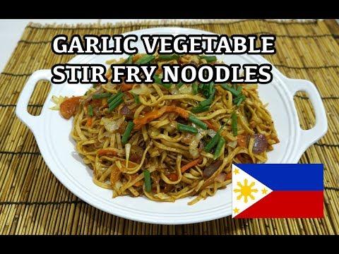 🇵🇭 Chili Garlic Noodles - Tagalog Pinoy Filipino Recipes