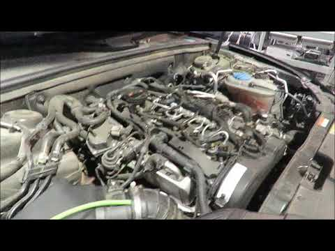 AUDI A5 35 TDI Brown gas carbon cleaning