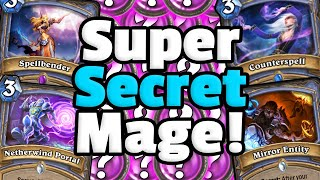 ?Super Secret Mage In 2k20?!? | Ashes Of Outlands | Hearthstone