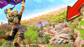 *NEW* EVERYONE Lands Tilted Towers 24/7 (Fortnite Battle Royale)