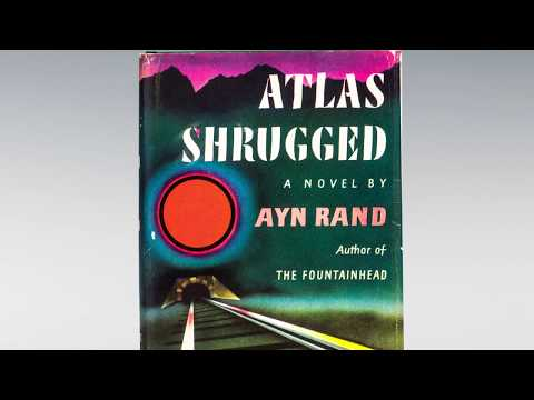 First Edition Of Atlas Shrugged By Ayn Rand Youtube