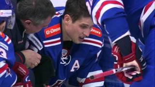 Ян Коварж изгнан за коварный удар Шипачёву в голову