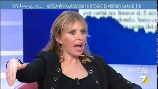 Alessandra Mussolini: 'nonno Tornò In Una Cassetta Di Legno A Pezzi, Vittorio Emanuele Iii In