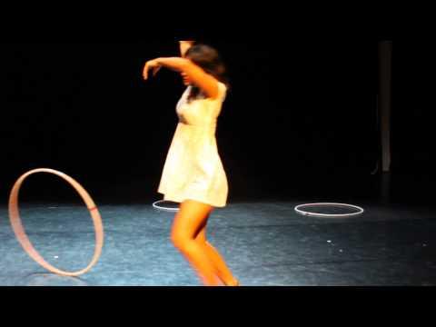 Salsa Sara/ Performing @Hoopurbia2013 Show case in Prague
