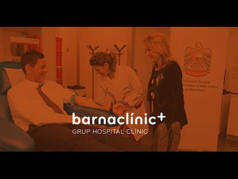 General Consulate of the UAE in Barcelona and Hospital Clinic, initiative to donate blood