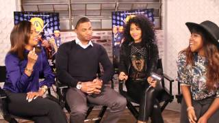 "Jordan Calloway, Alexandra Shipp, Letoya Luckett Talk ""Drumline 2"" & Strenuous Training"