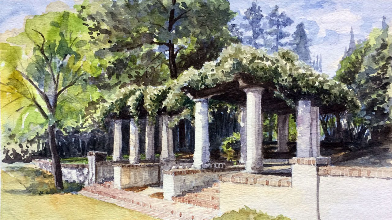 Watercolor Landscape Excerpts - YouTube