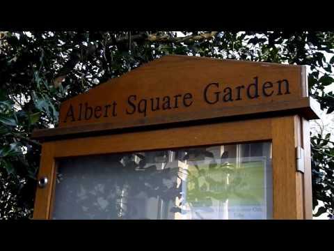 EastEnders Spoiler the Real Life ALBERT SQUARE GARDEN London