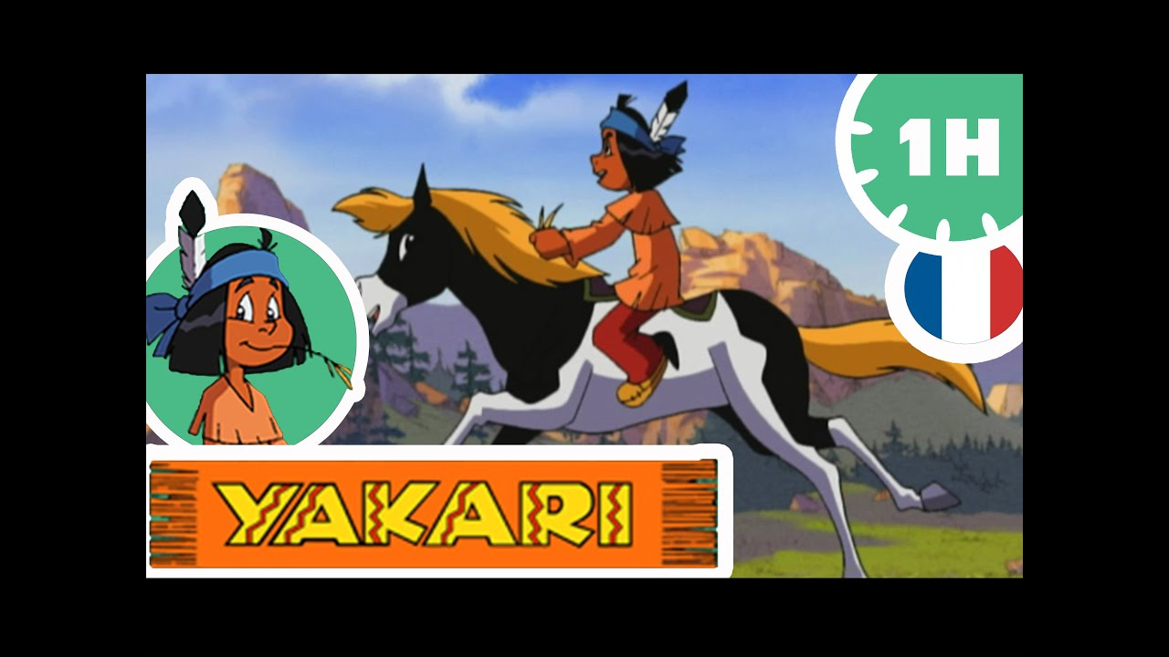 yakari  yakari et la toison blanche 🐐 dessin animé  hd