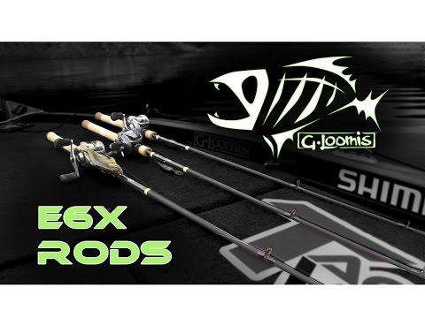 Jared Lintner Field Testing The NEW G. Loomis E6X Rods W/ Dan Thorburn