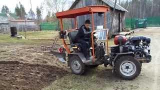 *Мини трактор 4x4*