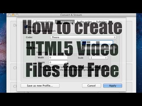 How To Create Webm & Ogg Html5 Videos For Free