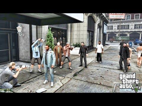 GTA 5 REAL LIFE CJ MOD #128 - MAFIA MOVIE!!!(GTA 5 REAL LIFE MODS) thumbnail