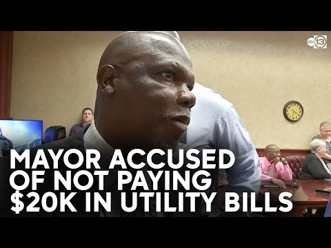 Texas Mayor Accused Of Not Paying $20,000 In Utility Bills