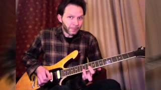 Paul Gilbert Lesson for Guitar World: 16th Notes in the key of D minor