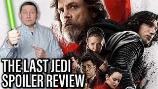 Star Wars: The Last Jedi Spoiler Review And Discussion PART 1