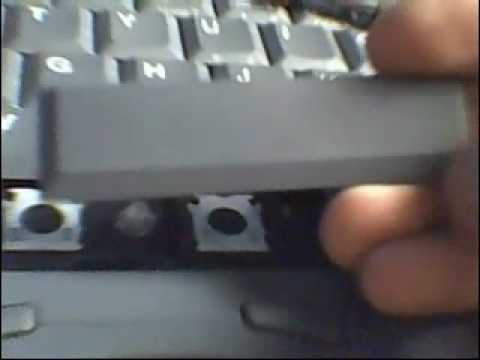 reparar tecla barra espaciadora  YouTube