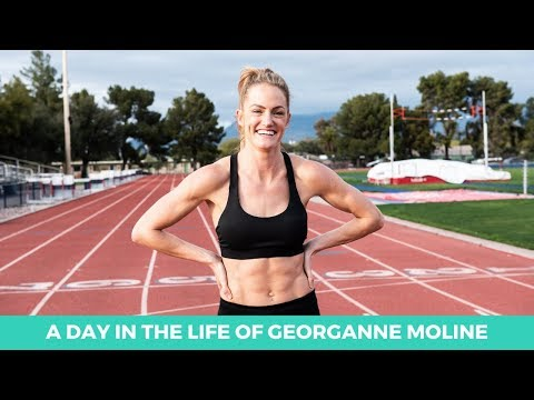 A Day in the Life of Olympian and World Champion Georganne Moline | Full day of eating | Macrostax