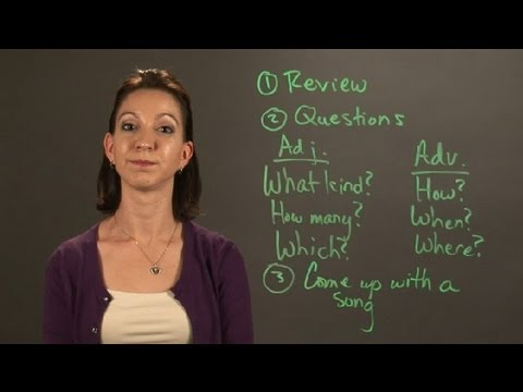 What Are Some Easy Ways to Identify Adjectives & Adverbs? : English & Grammar