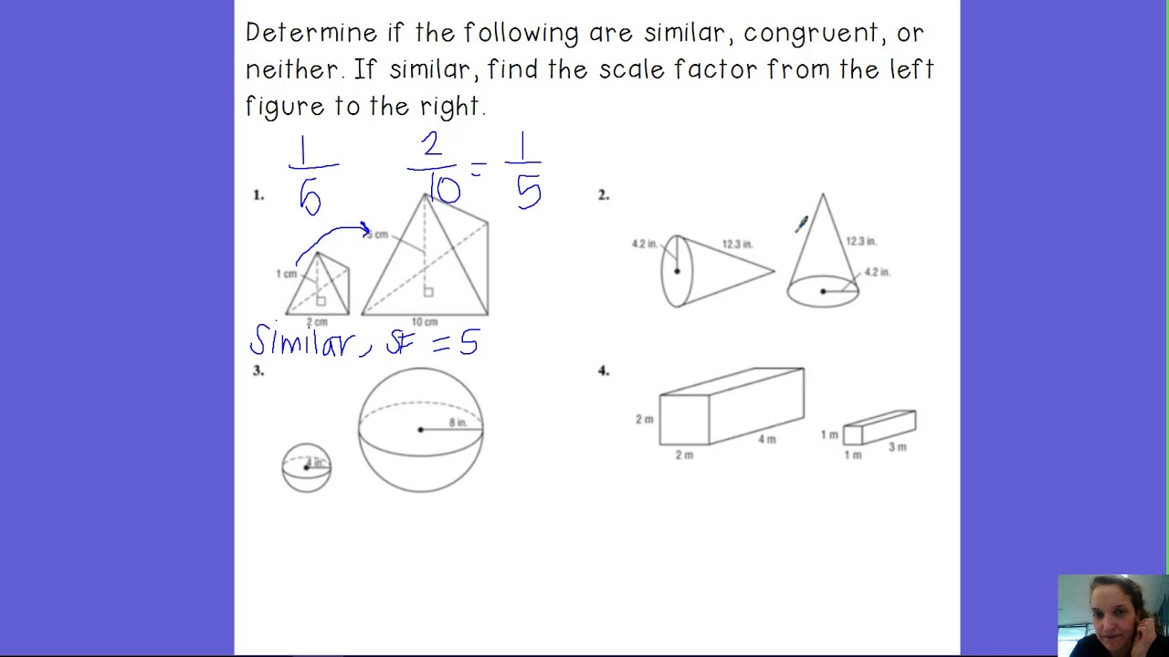 small resolution of Congruence and Similarity (examples